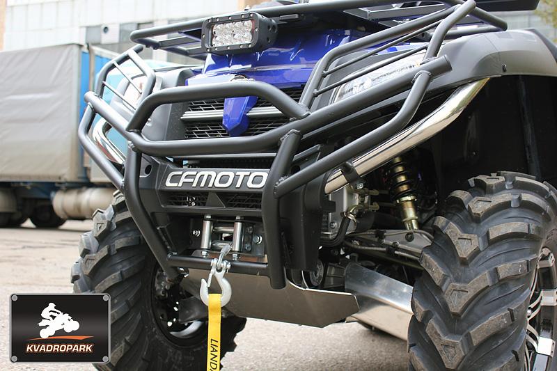 CFMOTO X8 — подогрев ручек, дополнительный свет, кофр, защита днища и рычагов, силовой обвес