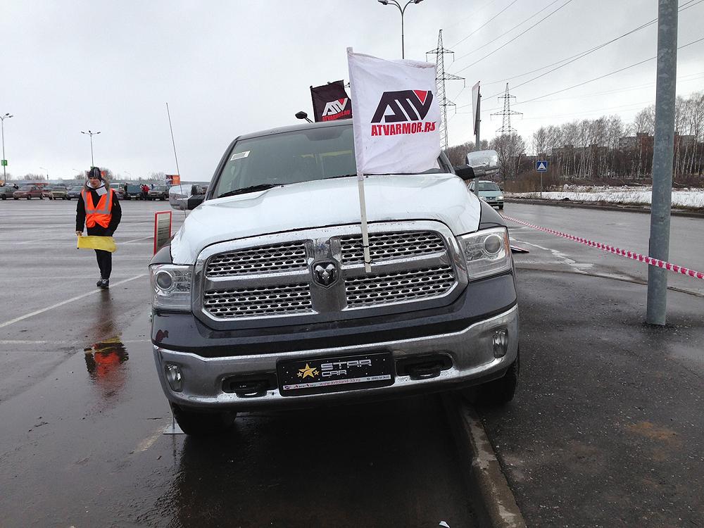 ATVARMOR на конкурсе АвтоЛеди во Владимире