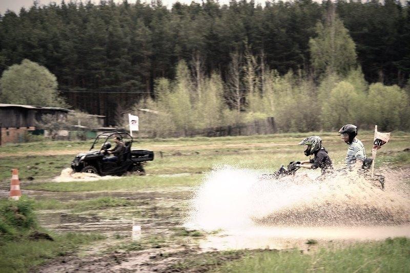 Фотоотчет с тест-драйва квадроциклов (11.05.2013) во Владимире