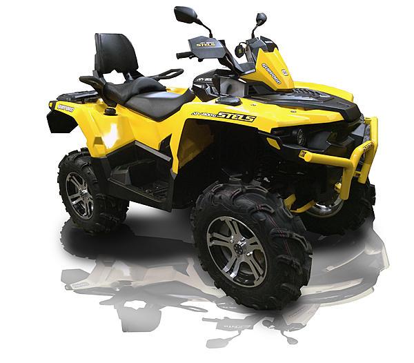 Новый STELS ATV 800 Guepard