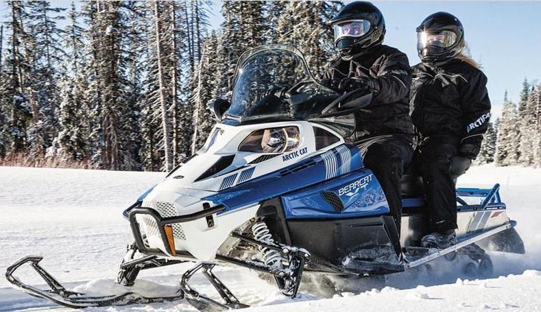 Обзор снегохода Arctic Cat Bearcat 570 XT