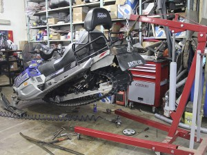 Фото сервисного центра по ремонту снегоходов