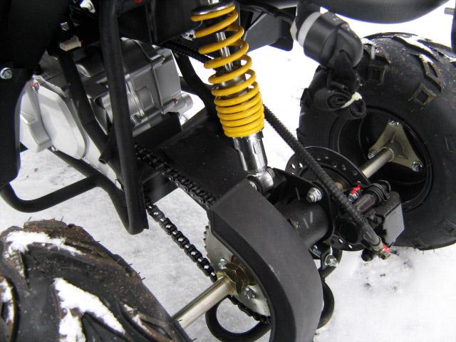 Как сделать из скутера квадроцикл