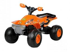Квадроцикл на аккумуляторе Molto Elite 5, оранжевый (O), 12V. Полесье. Артикул 35912_enl