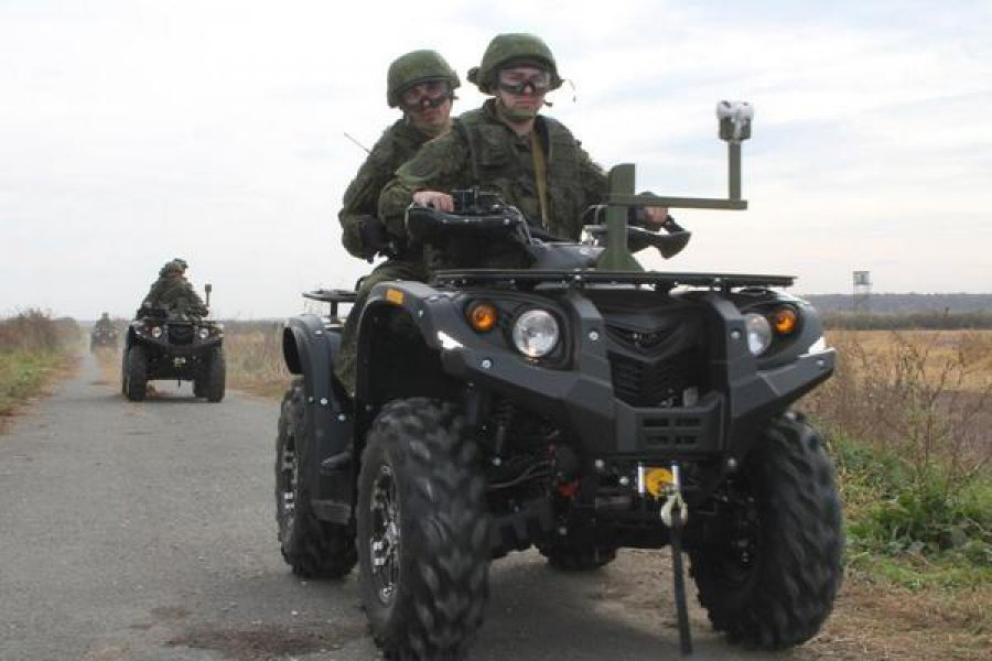 Особенности военных квадроциклов