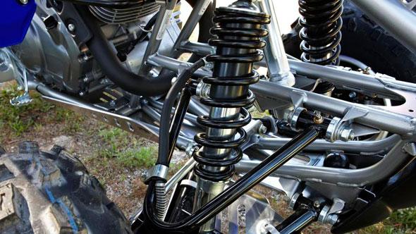 Рулевое управление квадроцикла