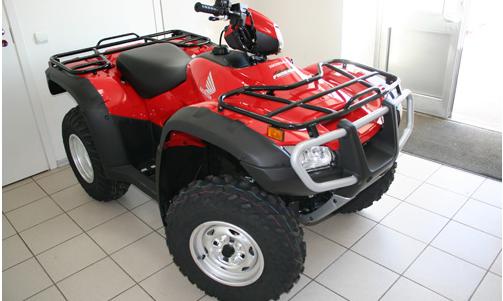 Дизайн Квадроцикла Honda TRX 500