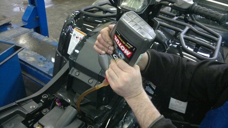 Обслуживание двигателей квадроциклов