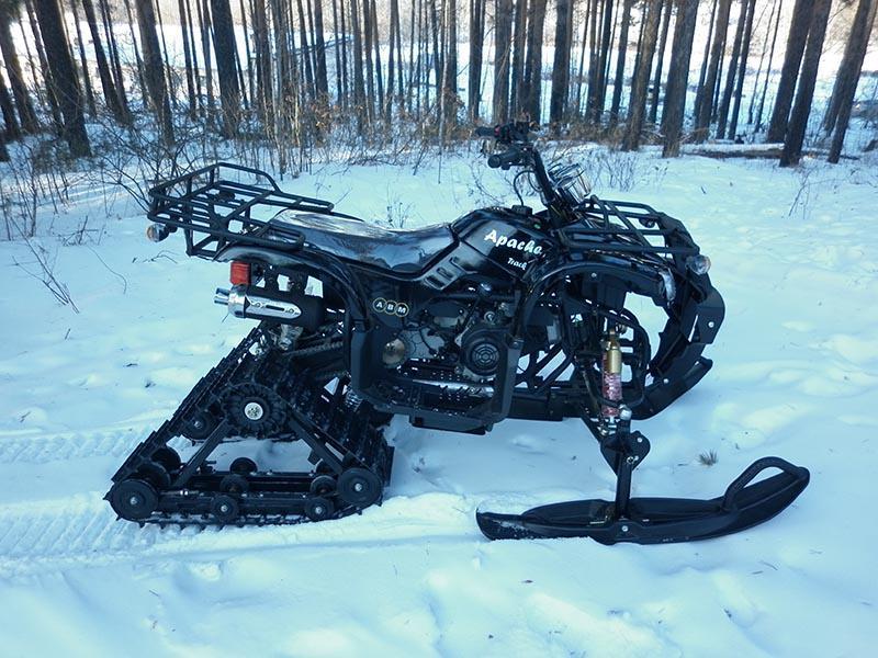 Зимний вариант Apache Track 200 cc