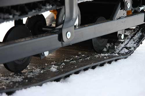 Ходовая часть снегохода Буран