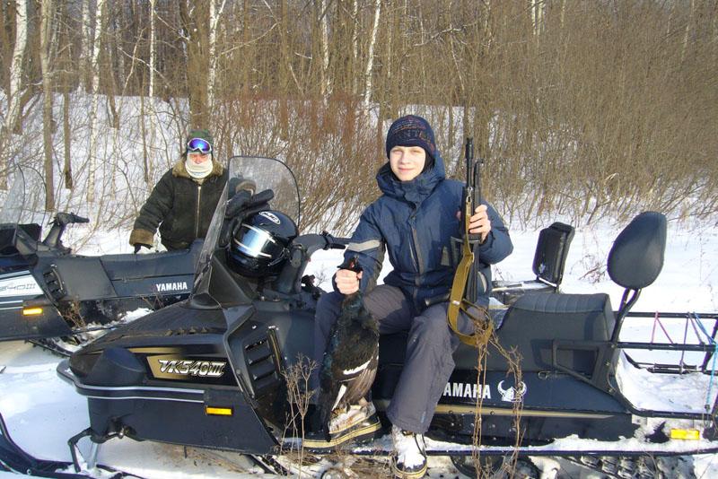 Какой снегоход выбрать для охоты