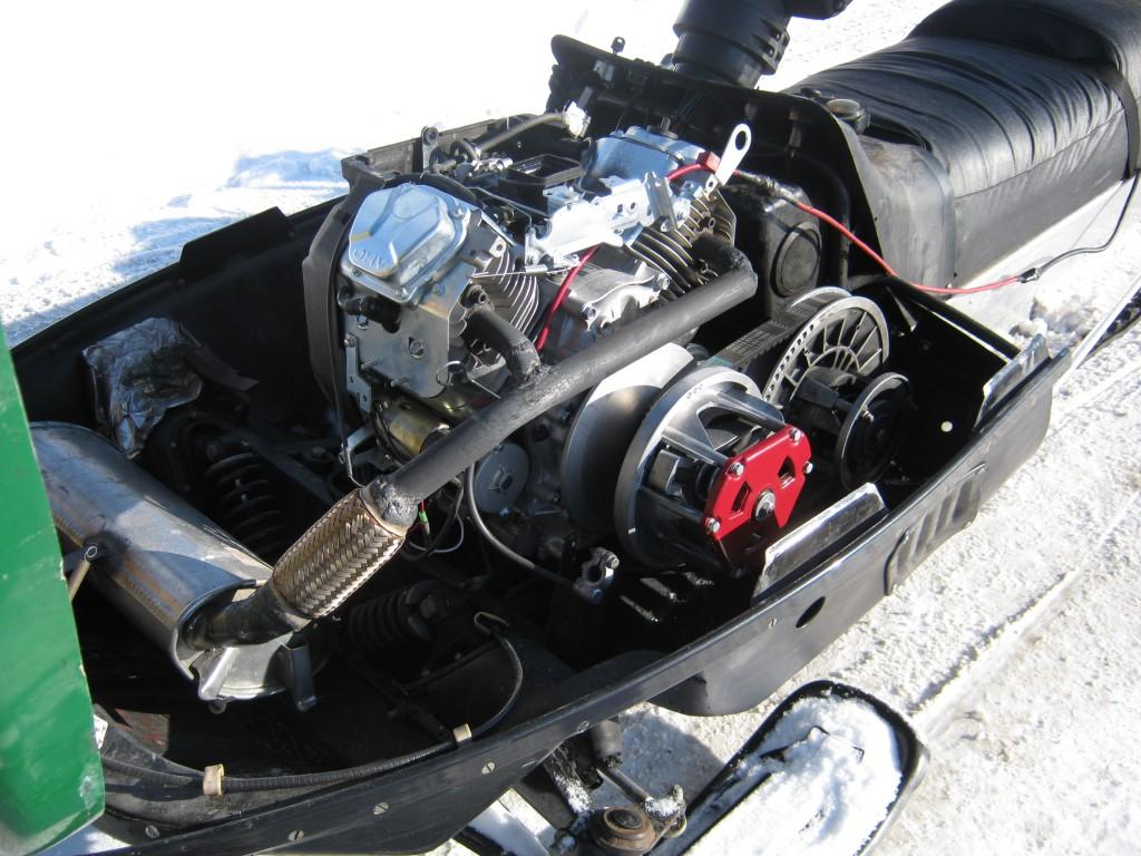 Тюнинг двигателя снегохода