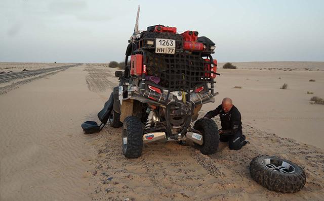 Сложные испытания в Мавритании!