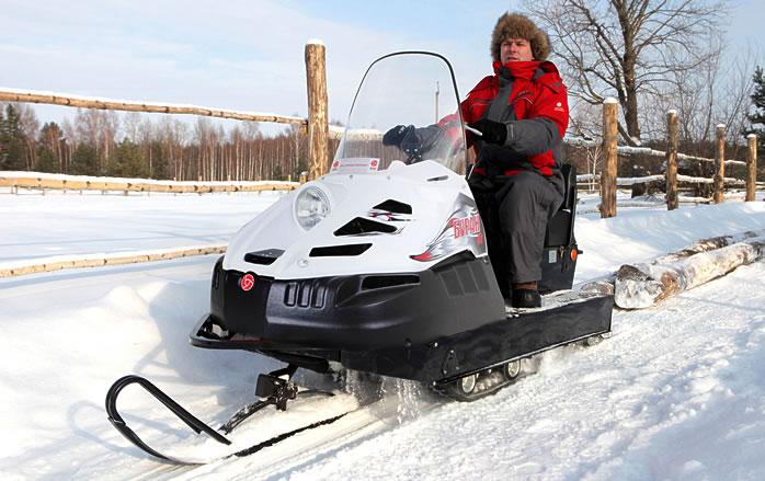 Российские снегоходы за 200 тысяч