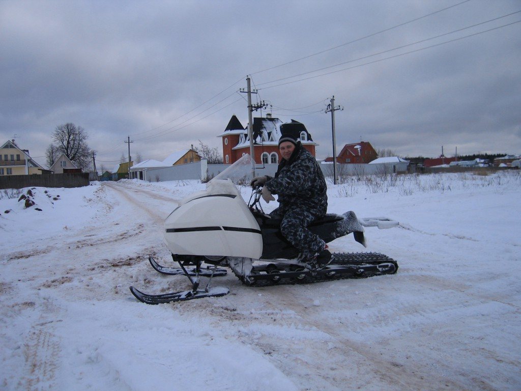 Купить мини снегоход