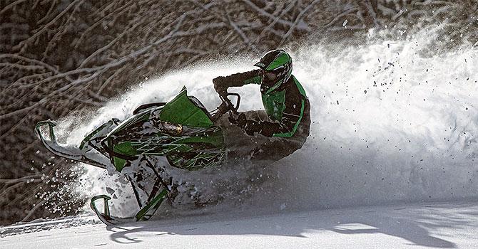 Купить снегоход для глубокого снега