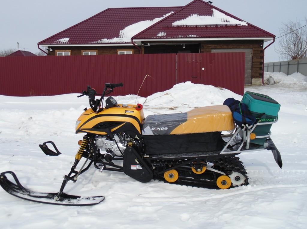 Надежность мини снегоходов