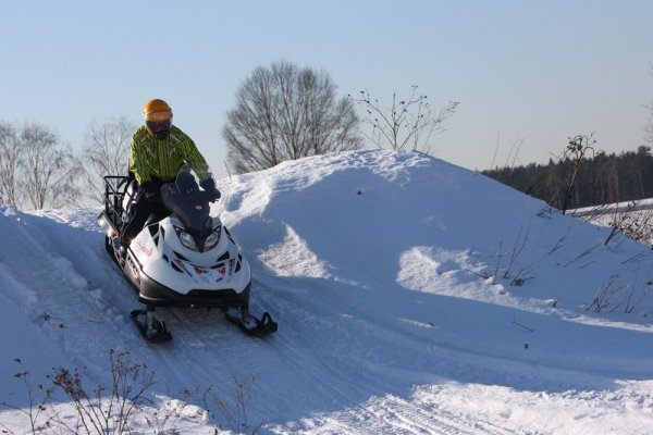 Снегоход Росомаха Stels 625