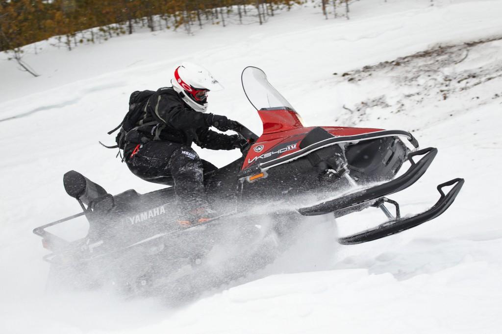 Зарубежные снегоходы эконом класса