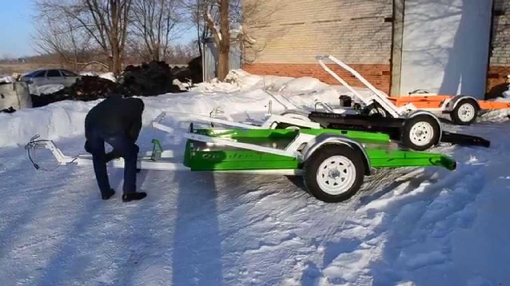 Продажа прицепов для снегоходов