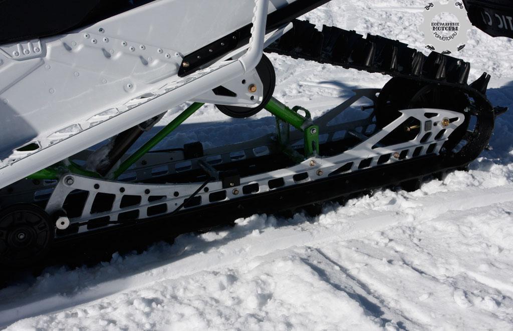 Регулировка подвески снегохода