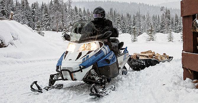 Стекло для снегохода