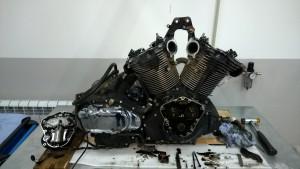 Ремонт моторов снегоходов