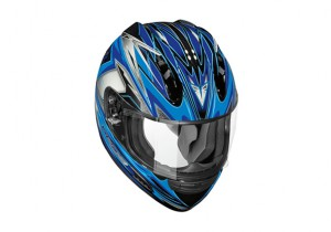 vega-helmet-altura-vantage-blue-top-view