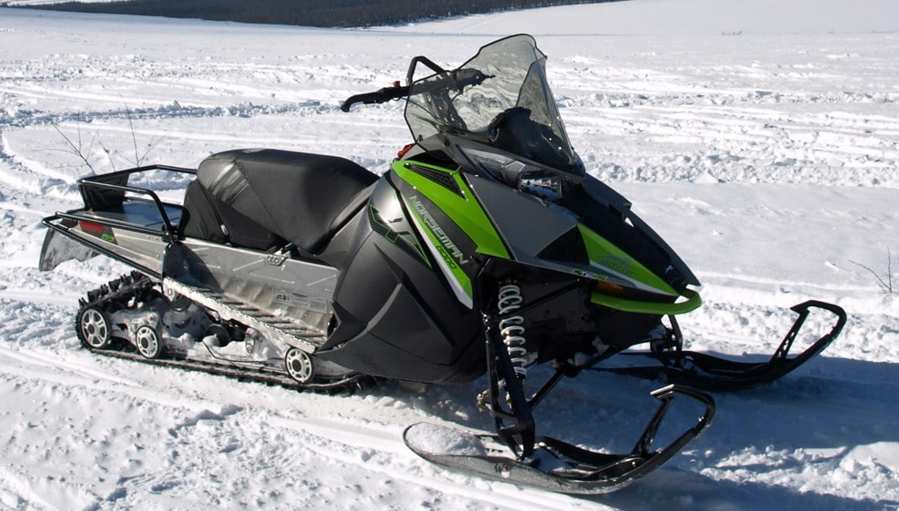 NORSEMAN X 8000 – новый снегоход компании Arctic Cat