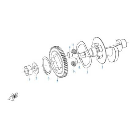Двигатель 157MJ-3