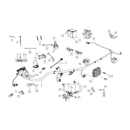 Электрическая система (EPS) для CFORCE 600 EPS