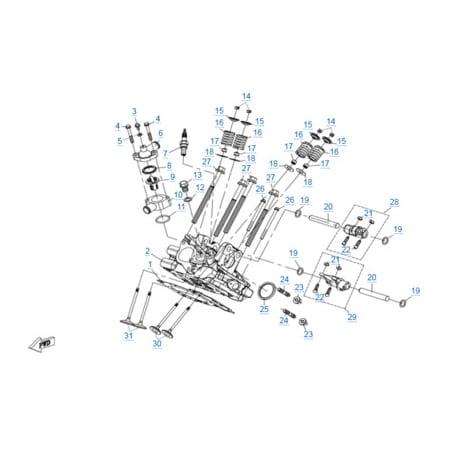 Двигатель 2V91Y