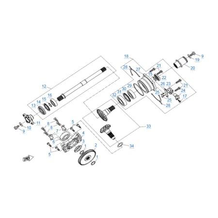 Двигатель 2V91Y (U10)
