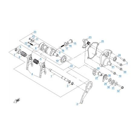 КПП 3 двигателя 191S