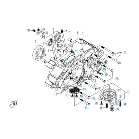Двигатель 157MJ-2A