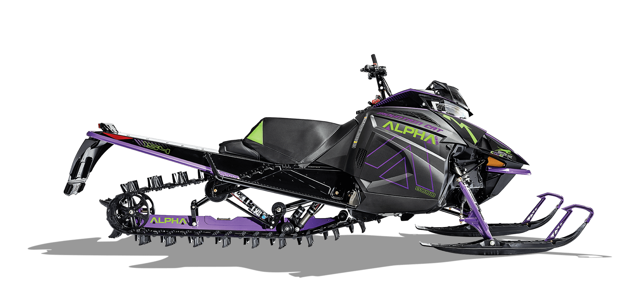 Снегоходы от Arctic cat: Mountain Cat, M8000 Sno Pro и Hardcore