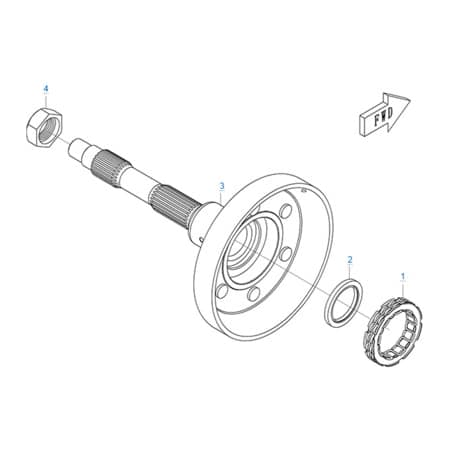 Механизм торможения двигателя 196S-C
