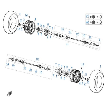 Запчасти для CFMOTO X8 Basic