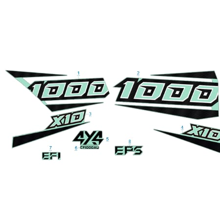 Запчасти для CFMOTO X10 EPS