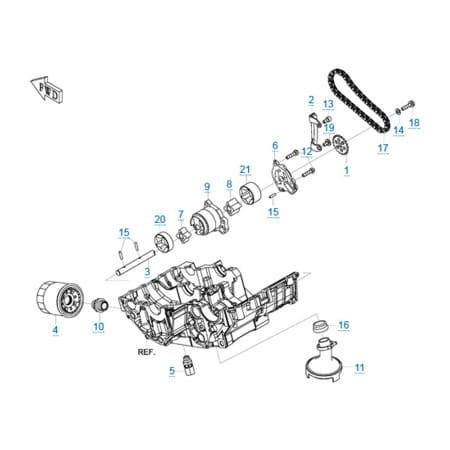 Двигатель 283MT
