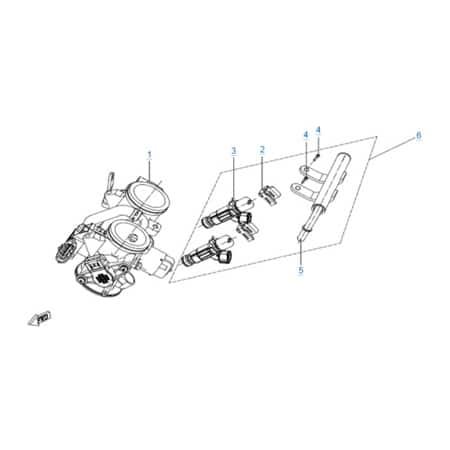 Двигатель 283MT (650 MT)