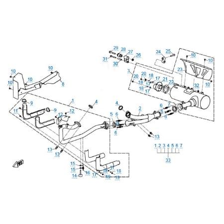 Запчасти для CF800-U8 EFI