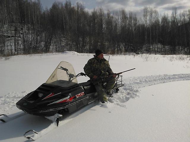 Снегоходы Рысь для охоты