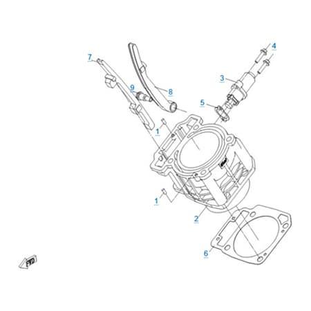 Цилиндр двигателя 191Q