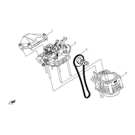 Двигатель 2V91W