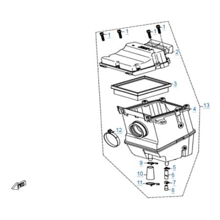 Запчасти для CFMOTO 250 NK (ABS)