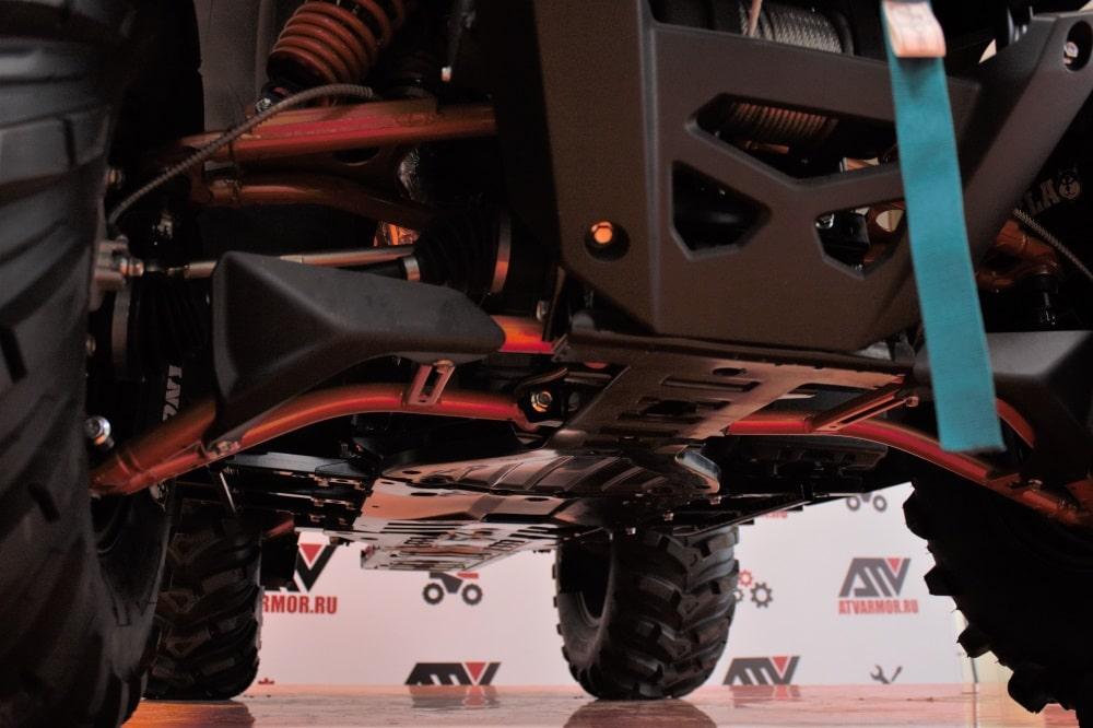 Тюнинг квадроцикла CFMOTO X10
