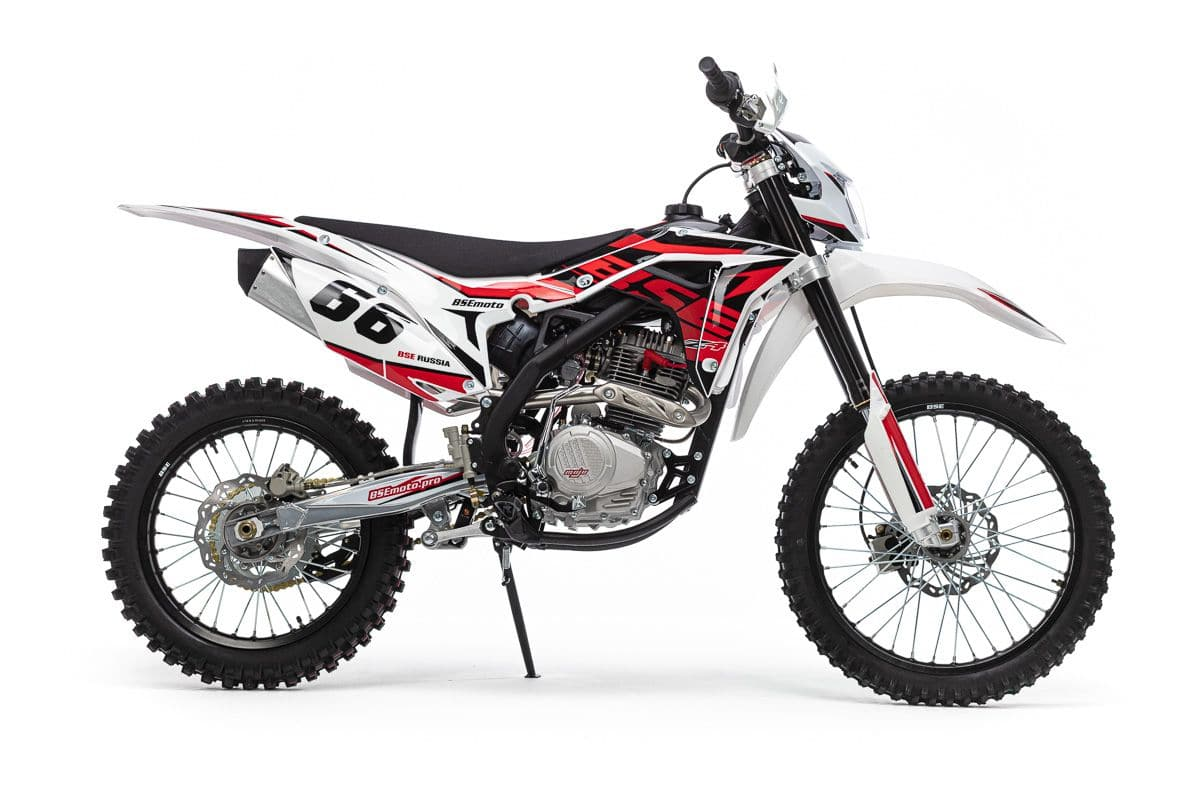 Кроссовый мотоцикл BSE Z4-250e 21/18 1