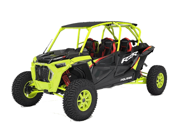 2021 Квадроцикл Polaris RZR 72 XP 4 Turbo S - Lifted Lime (US spec)