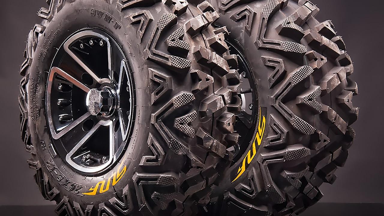 Выбираем лучшие шины для квадроцикла